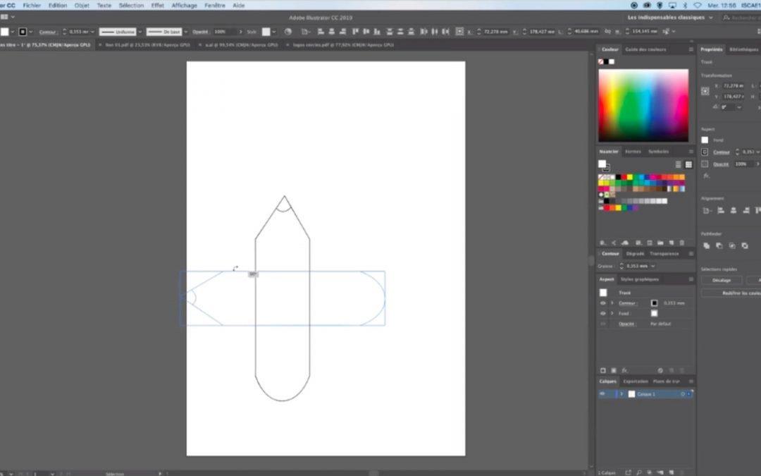 Création et modification de formes