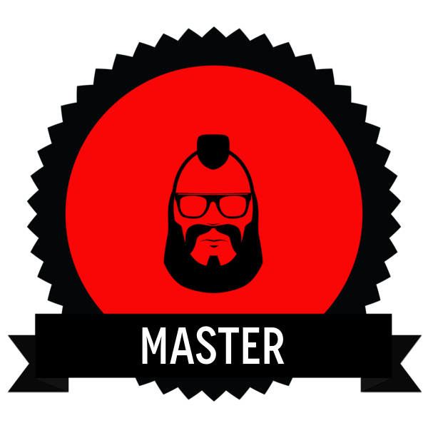 """Image du Badge """"Biker (4844)"""" fourni par Olyn LeRoy, from The Noun Project sous Creative Commons - Attribution (CC BY 3.0)"""